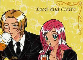 Leon and Claire : It,s Bar Time by LeonandClaireBSAA