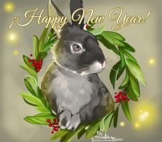 Happy New Year! by Hassly