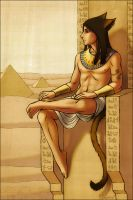 TIM, GUARDIAN OF THE NILE by kayshasiemens