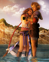 Tidus X Yuna by Reseliee