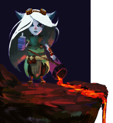 Tristana rough by VaiFlow