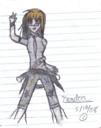 Zandra hand drawn by The-Lady-Nikki