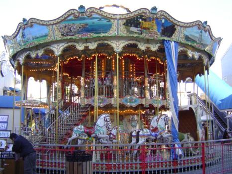 Stock: Merry-go-round by juicycontradiction