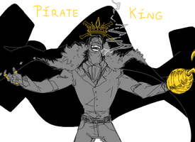 MY pirate king. by TacosaurusRex