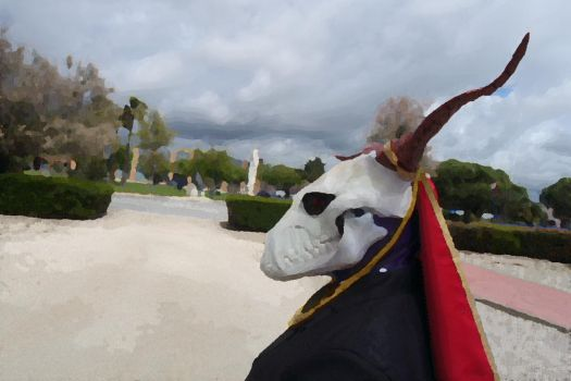 Elias Ainsworth cosplay oil portrait by Soulren