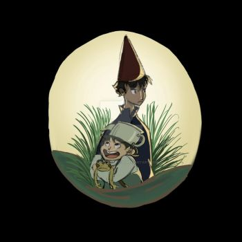 Over the Garden Wall by obsessed-sorry123
