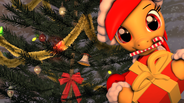 [SFM] Christmas Horse (fixed) by EpicLPer