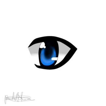 Second Eye I draw by popcorn-baka