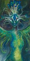 The Peacock Maiden by meddevi