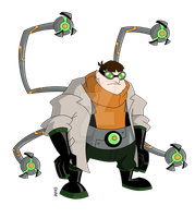 Doctor Octopus Fan Design by Insane-Mane