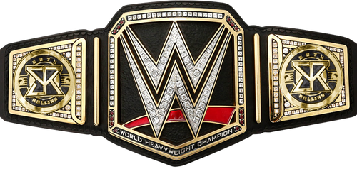 Seth Rollins WWE World Championship sideplates by Nibble-T