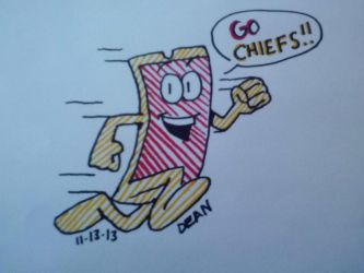 Go CHIEFS! by GreenUnicornArt