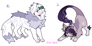 CLOSED adoptables batch 2 by DragonsPurr