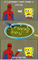 It's alphabet soup by onyxcarmine