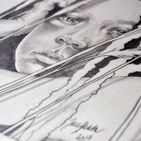 Graphite closeup by jane-beata