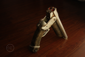 post-apocalyptic boomstick by enguerrand