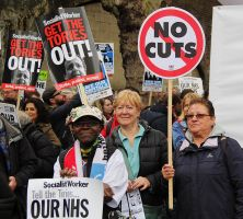 May 18th 2013 - Save the NHS: 18 by LouHartphotography