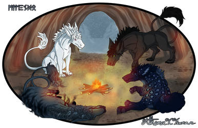 Ignifer and Ares Journey Trial by Athena-Tivnan