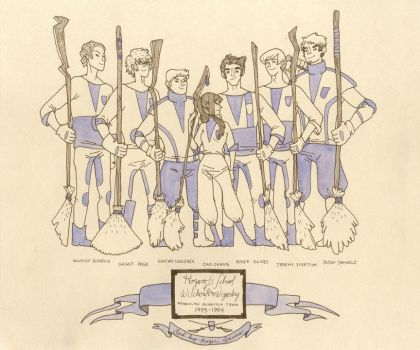 TEAM RAVENCLAW by dolle