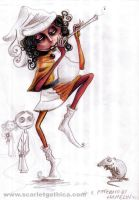 The Pied Piper - sketch 1 - by Claudia-SG
