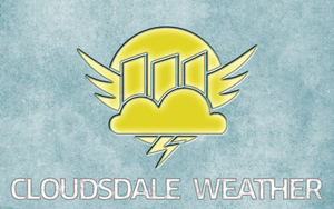 Cloudsdale Weather Corporation Background by ddrkreature