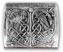 CELTIC CHEST 1 - COVER. by arteymetal