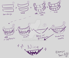[tutorial] teeth by kimojul