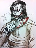 Jeff the Killer -Redesign- by XxLevanaxX