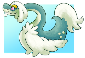 Drampa Sun/Moon Pokemon