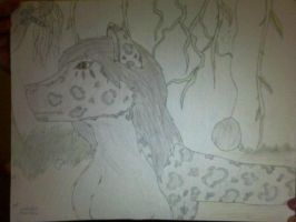 Clouded leopard in the jungle. by Sexy-Slender-Dragon