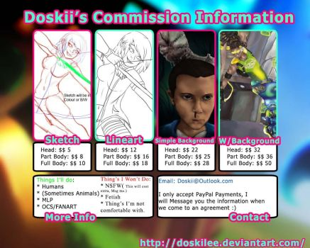 Commission info by DoskiiLee