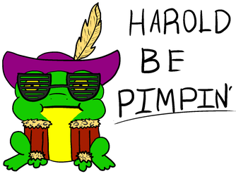 COTW T-Shirt Entry- HAROLD BE PIMPIN'... by addiapple223