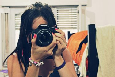 Photo of the photographer by photoshop-stock