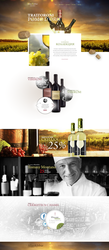 Web Design - Allan and Jebur Wine Company by Shizoy