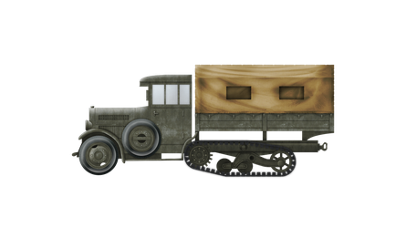 Half-Track Supply Truck - wz. 34 by Escodrion