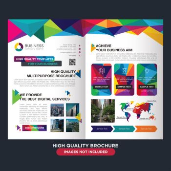 Professional brochure for multipurpose business by coddih