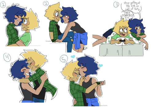 Lapidot Doodle Dump by summer-draws