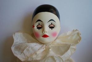 Clown Doll Stock 3 by chamberstock