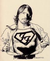 There goes my hero - Dave Grohl by JasonKoza