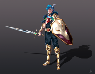 Anael - Character Design by CMorilla