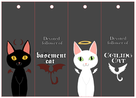LOLCat bookmarks. by Dezfezable