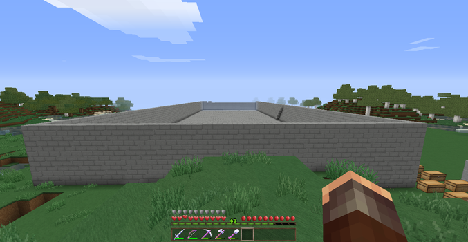 The compound Wall complete by Masterblaster1234