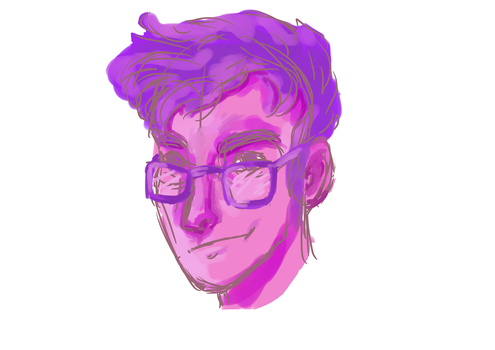 Sketchy James by PixieBrush