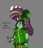 Kukull And Ignous (Art Trade) by ForestArcherBoy