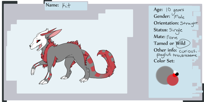 Kit Refrence sheet by Sirenet