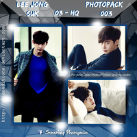 +LEE JONG SUK | Photopack #OO3 by AsianEditions