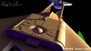 My Version Of Kronos 1 Study Model part 40 by XFozzboute