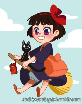 Kiki charm by ambisweetiepie