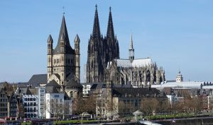 A postcard of cologne ( new cut ) by UdoChristmann