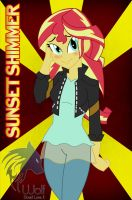 Sunset Shimmer by Wolf-DavidLoveII